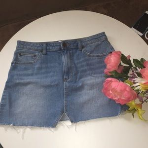 {anthropologie} BDG Urban outfitters Jean Skirt